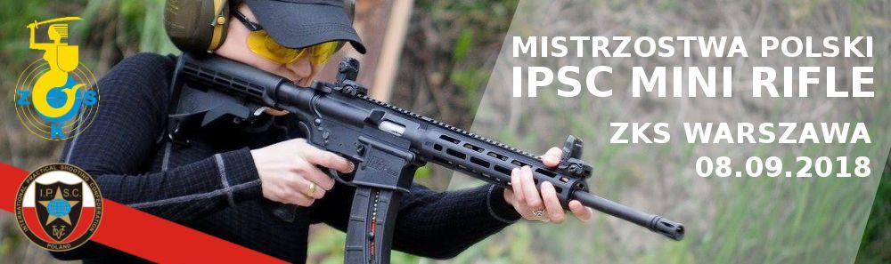 Strzelnica ZKS Warszawa organizator Mistrzostw Polski Mini Rifle