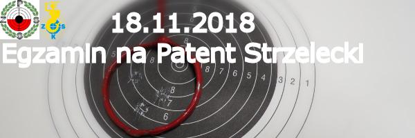 ZKS Warszawa zaprasza na Patent Strzelecki