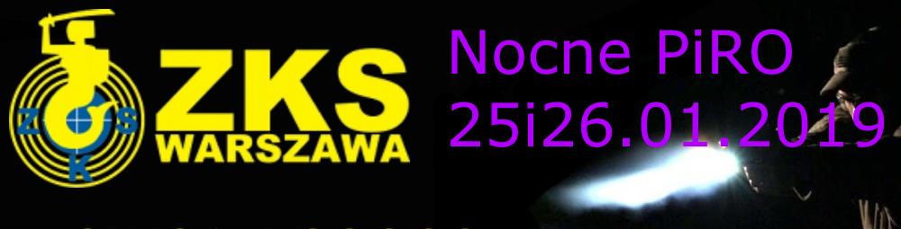 Piro nocą na ZKS Warszawa